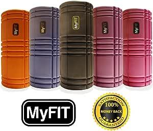 MyFit Rodillo de espuma , Ejercicio Foam Roller. High