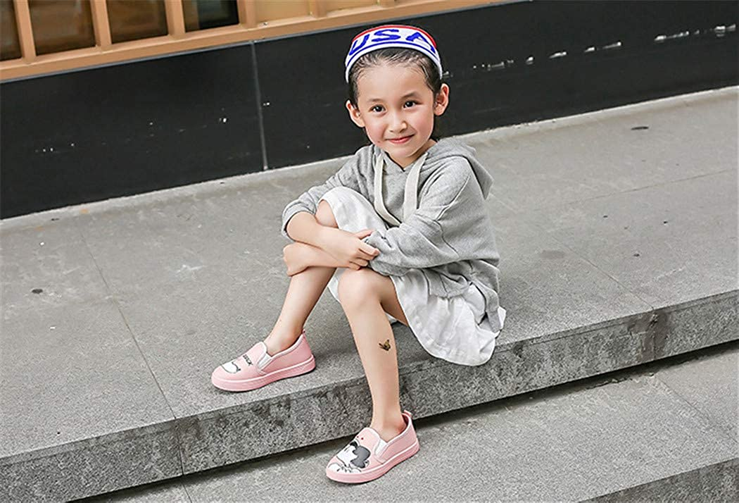 Zhaoguan Cute Children Shoes Canvas Shoes Fashion Painting Comfortable Kids Casual Shoes