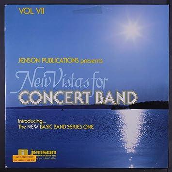 VARIOUS - new vistas for concert band vol  vii LP - Amazon