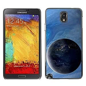 Caucho caso de Shell duro de la cubierta de accesorios de protección BY RAYDREAMMM - Samsung Galaxy Note 3 N9000 N9002 N9005 - Gas Giant Planets Art View Universe Space Cosmos