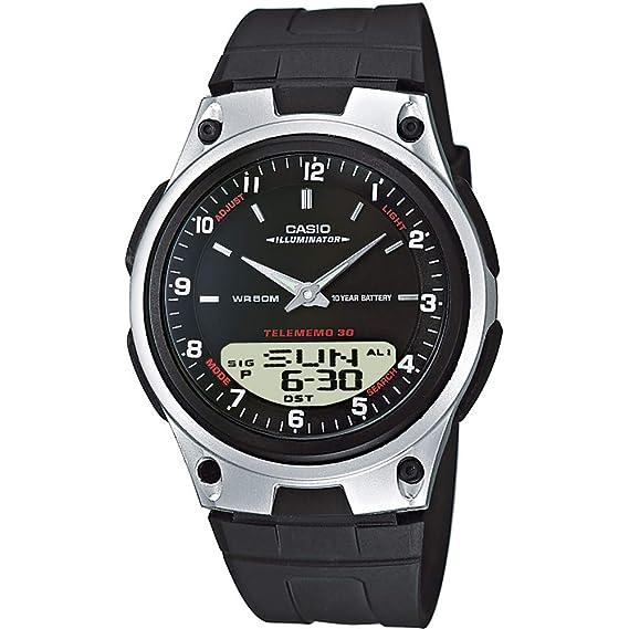 ca211359ae88 Casio Reloj de Pulsera AW-80-1AVES  Amazon.es  Relojes