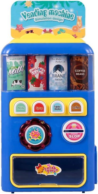 Goolsky- Máquinas expendedoras Juguetes electrónicos Máquinas de Bebidas Niños Educación Juguetes de Aprendizaje para niños y niñas