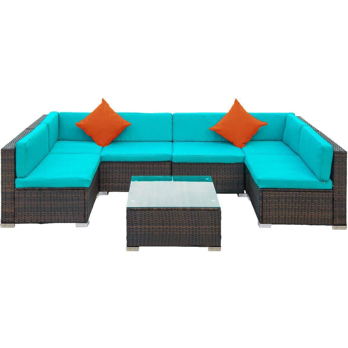 Amazon.com: LZ LEISURE ZONE - Juego de muebles de patio de ...