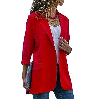 Aooword-women clothes Chaqueta de traje de oficina otoño/invierno ...