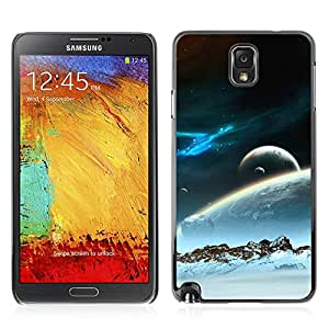 Super Stellar Slim PC Hard Case Cover Skin Armor Shell Portection // V0000464 Universe Planets Digital Art // Samsung Galaxy NOTE 3 N9006