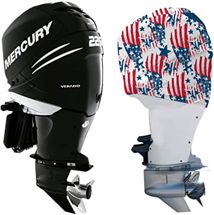 Mercury 100-150 HP Black Full Outboard Engine Cover