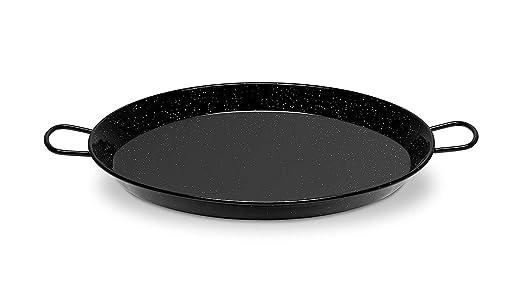 Metaltex - Paellera esmaltada 60 cm