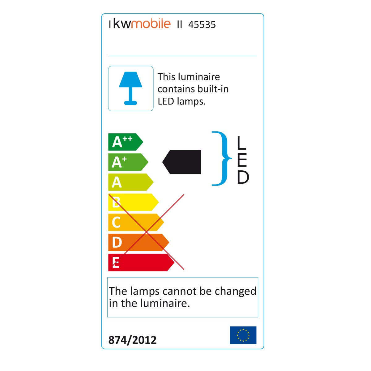 kwmobile L/ámparas LED para mesa de noche de aluminio Flexo de cabeza giratoria en negro L/ámpara de pie con bater/ía y cable MicroUSB