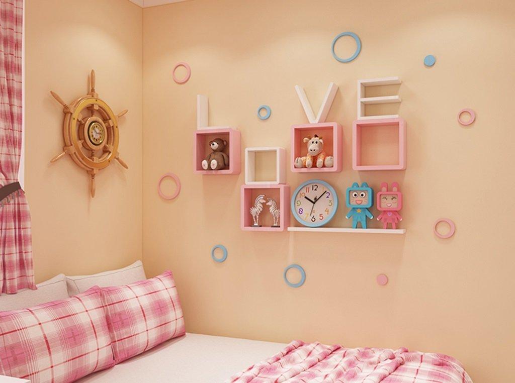 Wall Shelf LOVE Bedroom Floating Mount Shelf by AI XIN SHOP (Image #1)