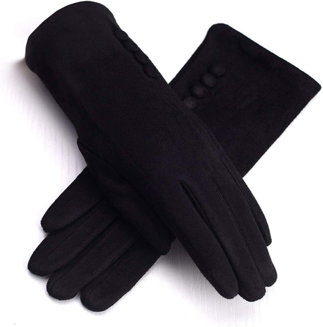 CWJ Mens Fashion Gloves Touchscreen Cold-Proof Windproof Warm Gloves