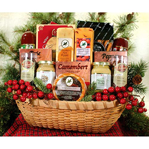 Wisconsin Bounty Cheese Gift Basket