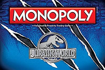 Monopoly® Jurassic World™, Edition Board Game - Item #MN051-383