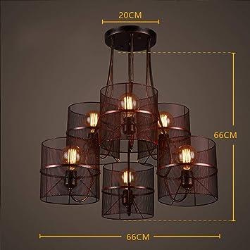 ZXDD Lámparas Colgantes Lámparas de Techo Lámparas de Techo ...
