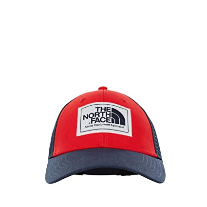 The North Face Mudder Trucker Hat - Gorra, Hombre, TNF Red/Urban Navy
