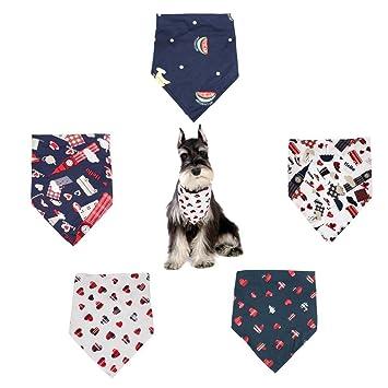 Bandana Correa Triangular Ajustable Perro Bandana Triangle Bibs Accesorios de Bufandas de Colores Brillantes para Gatos de Mascotas y Cachorros de bebé. ...