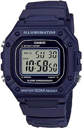 Casio Reloj Digital para Hombre de Cuarzo con Correa en Resina ...
