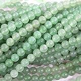 Natural Green Aventurine Round 6mm Gemstone Loose Beads Jewerly Making Findings