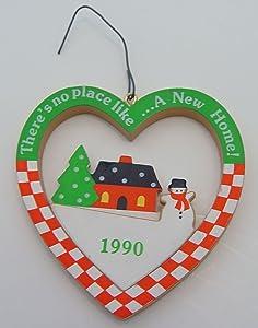 "Hallmark Keepsake Ornament ""There's No Place Like a New Home 1990"