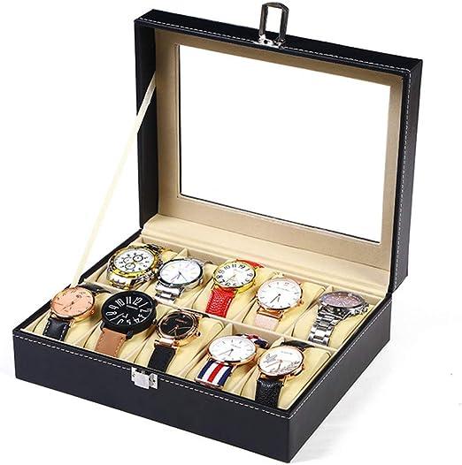 QMWY Caja para Relojes,Caja Relojes Reloj de Alta Gama Reloj PU ...