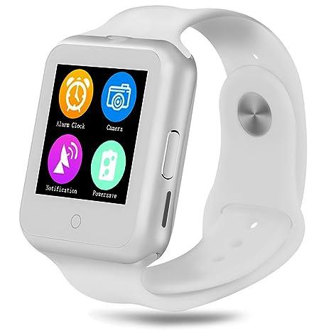kivors impermeable inteligente Reloj con monitor de frecuencia cardiaca Bluetooth Smart reloj deportivo reloj Fitness Tracker