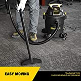 Stanley Wet/Dry Vacuum, 6 Gallon, 4 Horsepower