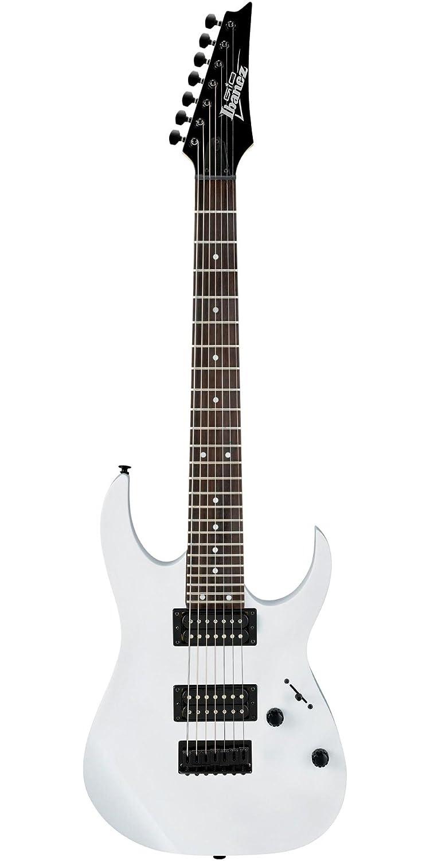 Ibanez grg7221 (7 cuerdas Guitarra eléctrica, color blanco: Amazon.es: Instrumentos musicales