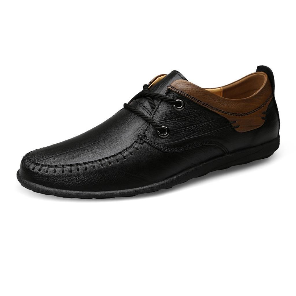 Hombre, Conducción, Zapatos Departamento de Zapatos de Encaje Zapatos Casuales Zapatos de Trabajo 44 EU|Black