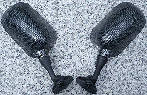 (i5 NEW CARBON MIRRORS for Honda CBR 900 929 954 RR CBR900 CBR929 CBR954 900RR 929RR 954RR CBR900RR CBR929RR CBR954RR)