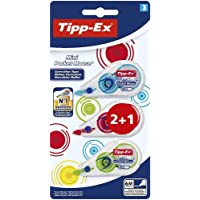 Bic - Cinta correctora tipp-ex mini pocket mouse 2+1