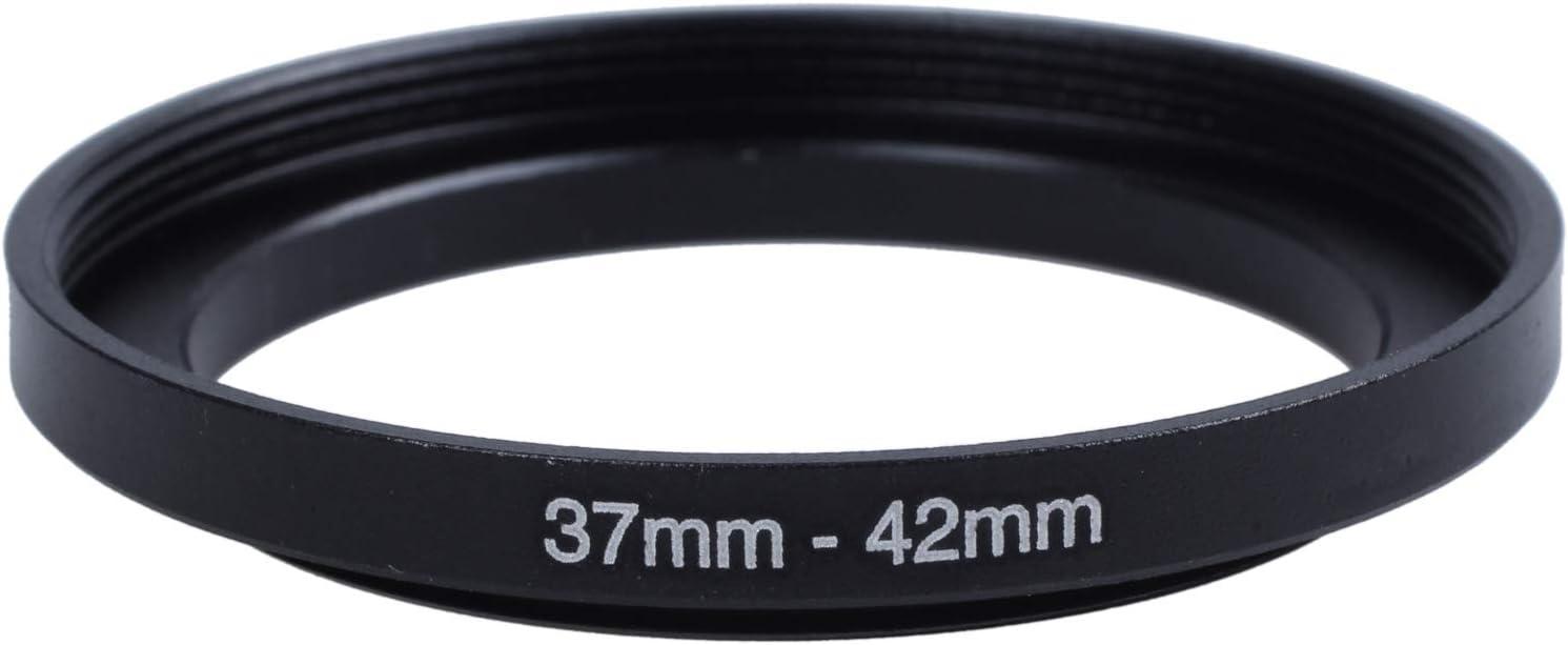 WOVELOT Camera di Riparazione 37 millimetri-42 Millimetri di Metallo Step Up Adattatore Filtro