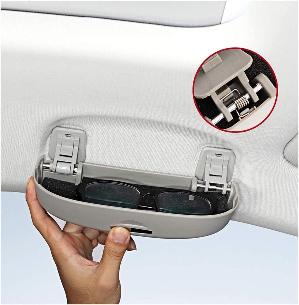 Negro LFOTPP Coche Estuche de Gafas Soporte de Gafas de Sol Auto Interior Accesorios para Clase A W176 B W246 C W205 SUV