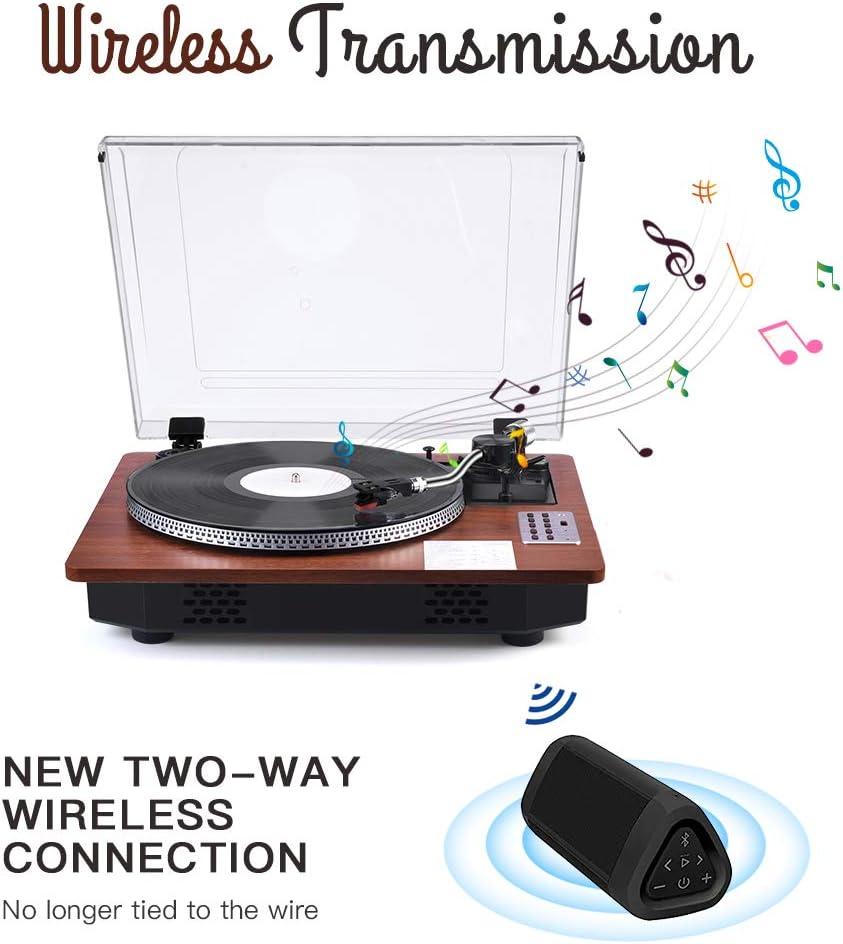 Amazon.com: Reproductor de grabaciones giratorio profesional ...