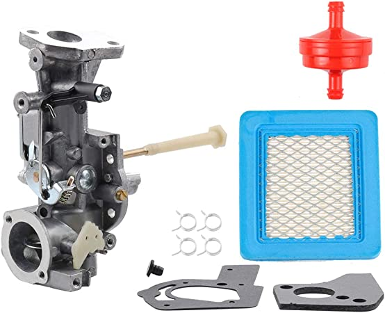 Amazon Com Dxent 498298 Carburetor For 692784 495951 492611 490533 495426 5hp W Air Fuel Filter Gasket Parts Kit Engine Troy Bilt Rototiller Generac Generator Craftsman Tiller Power Washer Lawnmower Garden Outdoor
