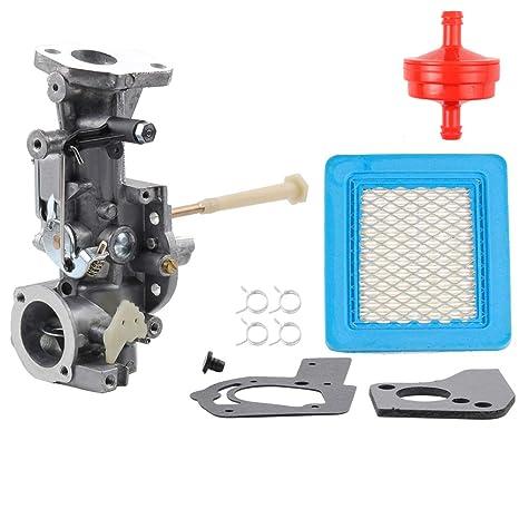 498298 Carburetor For Briggs Stratton 692784 495951 492611 490533 495426 5HP W Air Fuel Filter Gasket Parts Kit Engine Troy Bilt Rototiller Generac