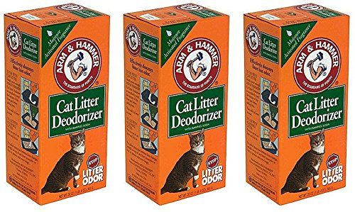 ARM & HAMMER® Cat Litter Deodorizer Powder (3 Pack) (Pet Stain And Odor Remover Arm And Hammer)
