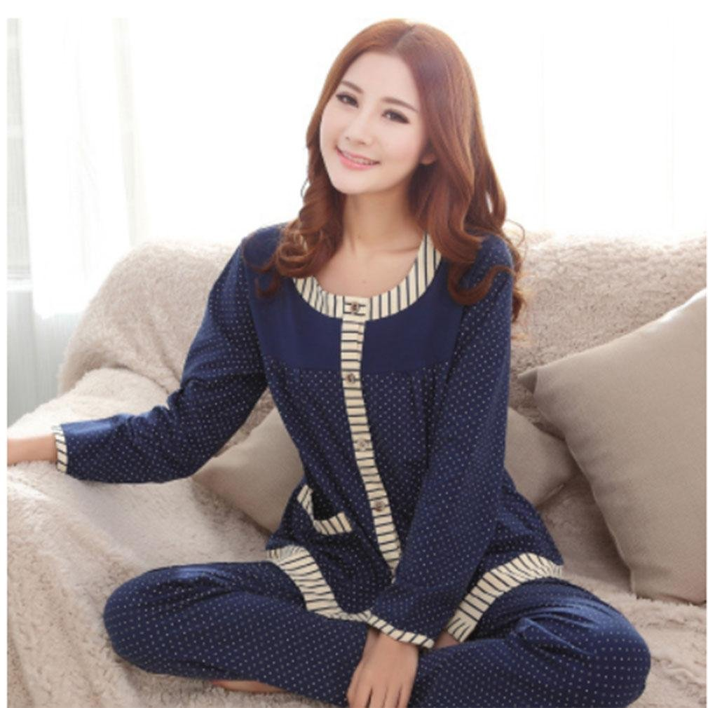 MOXIN Ladies Soft Warm Autumn Winter Cosy Pyjama Set MOXIN , l , A