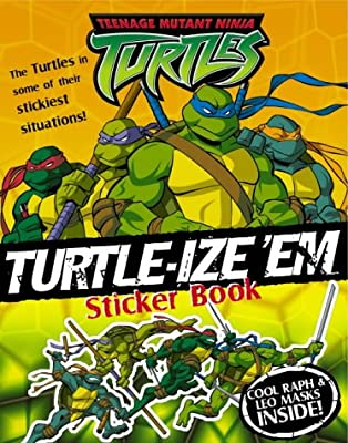 Turtle-ize em Sticker Book: Sticker and Activity Book ...