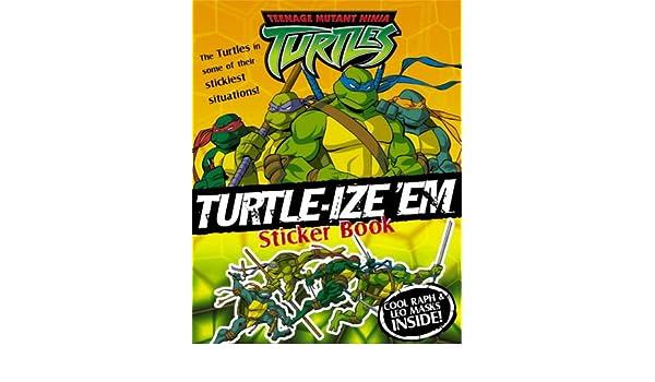Turtle-ize em Sticker Book: Sticker and Activity Book ...