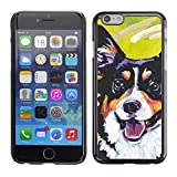 All Phone Most Case / Hard PC Metal piece Shell Slim Cover Protective Case for Apple Iphone 6 Plus 5.5 Corgi Lancashire Heeler Art Black Dog