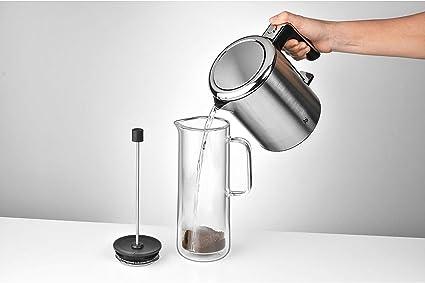 WMF Coffee Time Cafétera de Pistón, Vidrio: Amazon.es: Hogar