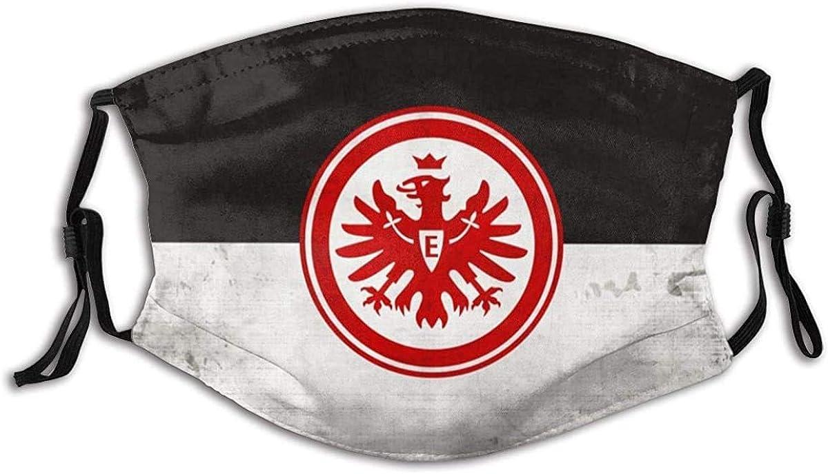 wanglinbin11 Unisex Nasenmund Mund Staubschutz Eintracht Frankfurt Verstellbare Mundschutz