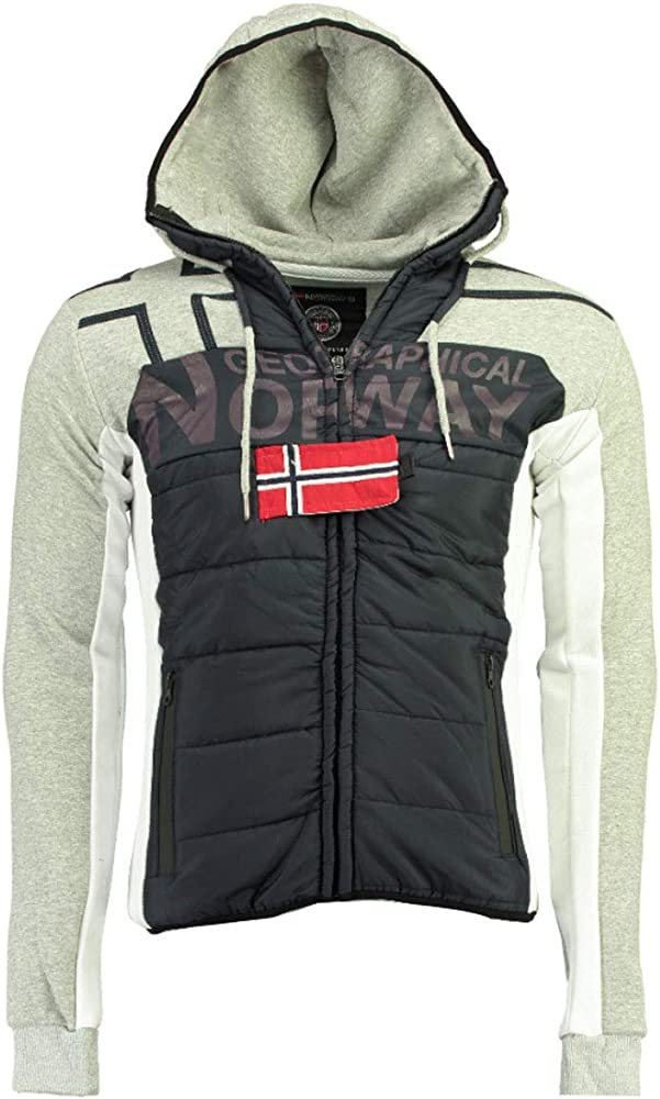 Geographical Norway Sudadera de Hombre GUMIX Men (M, Navy/Blended ...