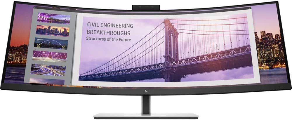 HP INC. 5FW74A8#ABA LCD Display, Black