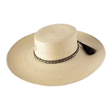 34791f310 Charlie 1 Horse Caballo Loco Palm Hat at Amazon Women's Clothing store