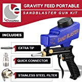 Sandblaster Sand Blaster Gun Kit, Soda