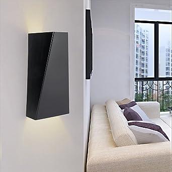 Croissant 10 W LED Applique murale Lampe murale intérieur géométrique Design PS-43