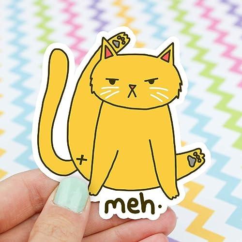 Cat Butt Sticker, Funny Cat Sticker, Cat Stickers, Cat Bum, Cat Bathing, Cute Cat Sticker, Funny Gift, Cat Lover Gift, Funny Cat Vinyl