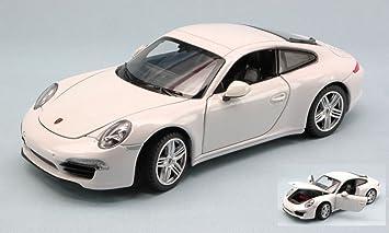 RASTAR RAT56200W PORSCHE 911 3.8 CARRERA S 2011 WHITE 1:24 MODELLINO DIE CAST: Amazon.es: Juguetes y juegos