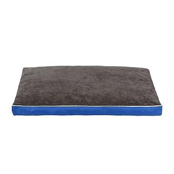 QIAOQI Colchoneta para perros, cama para mascotas ortopédica, Memory impermeable de espuma para mascota