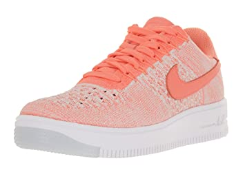 get cheap d6b54 1d367 Image Unavailable. Image not available for. Color  NIKE Women s AF1 Flyknit  Low Atomic Pink Atomic Pink Casual Shoe ...